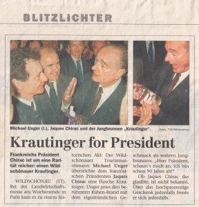 Krautinger for President